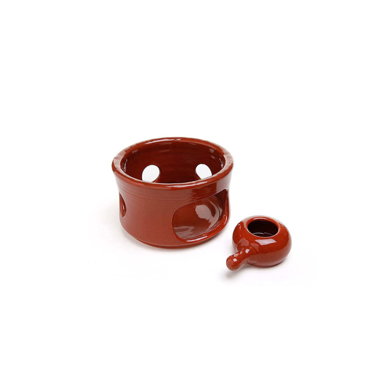 Fogareiro em cerâmica Vm Nº1 - 15 x 9,5cm