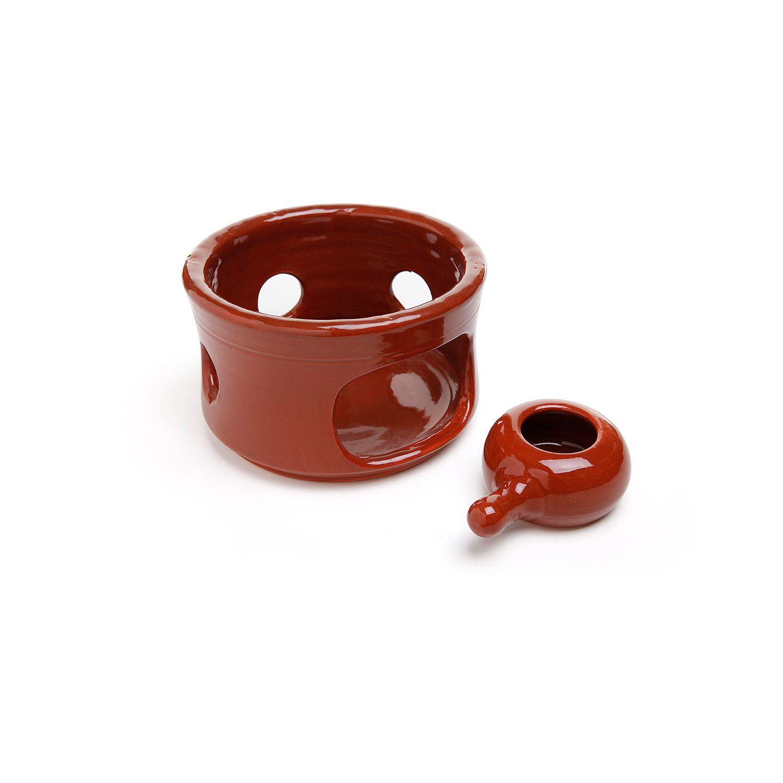 Fogareiro em cerâmica Vm Nº3 - 20 x 13cm