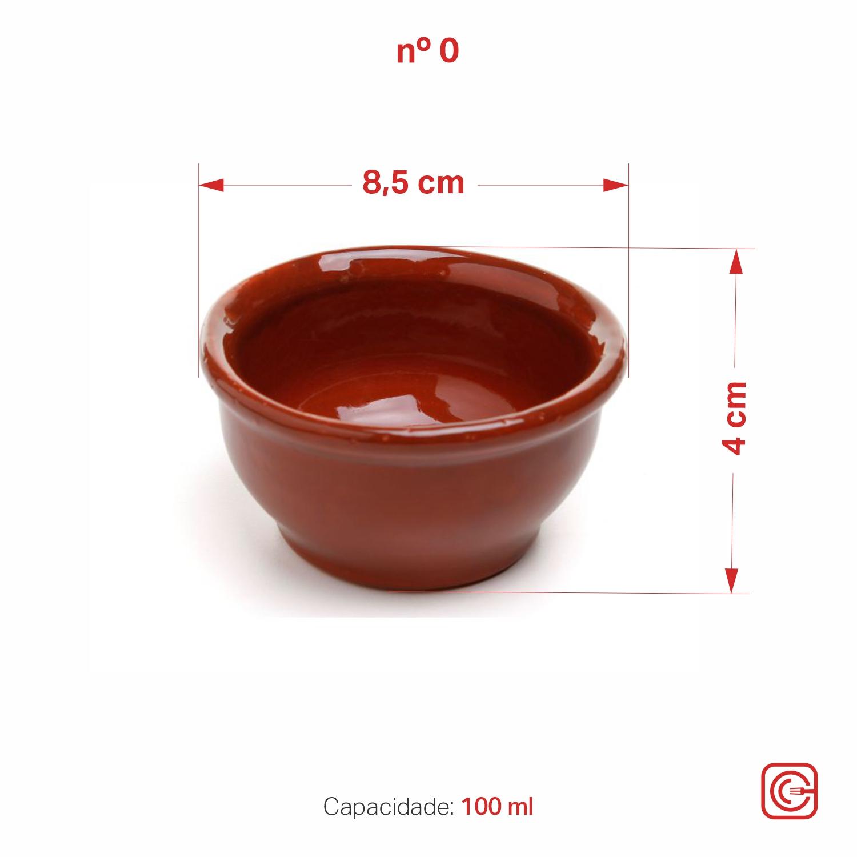 Molheira cumbuca nº0 - 100 ml