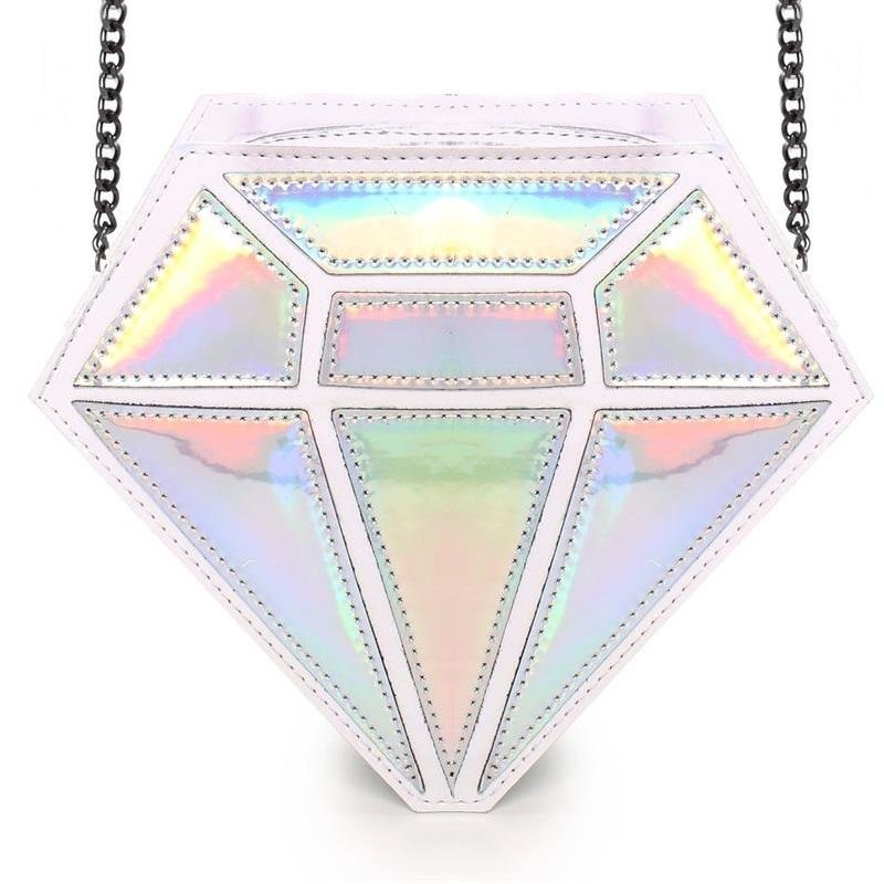 Bolsa Diamante Branco