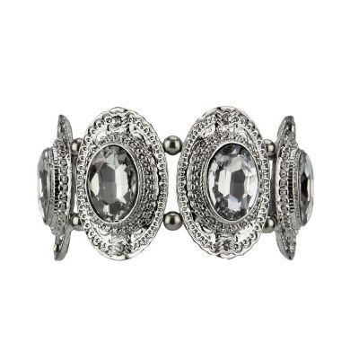 Bracelete Prata com Elástico