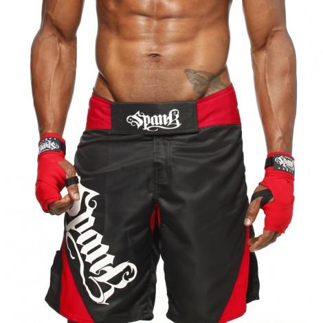 Bermuda de MMA Spank All Sports Preta 2.0