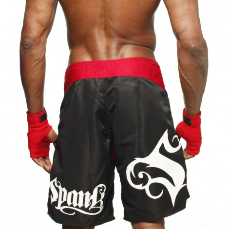 Bermuda de MMA Spank All Sports Preta 2.0