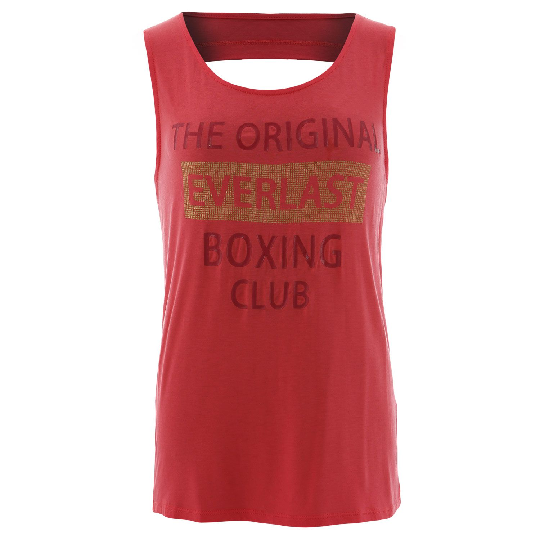 Camisa regata feminina Everlast vermelha