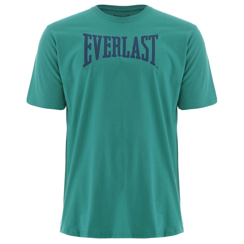 Camiseta Everlast algodão básica verde