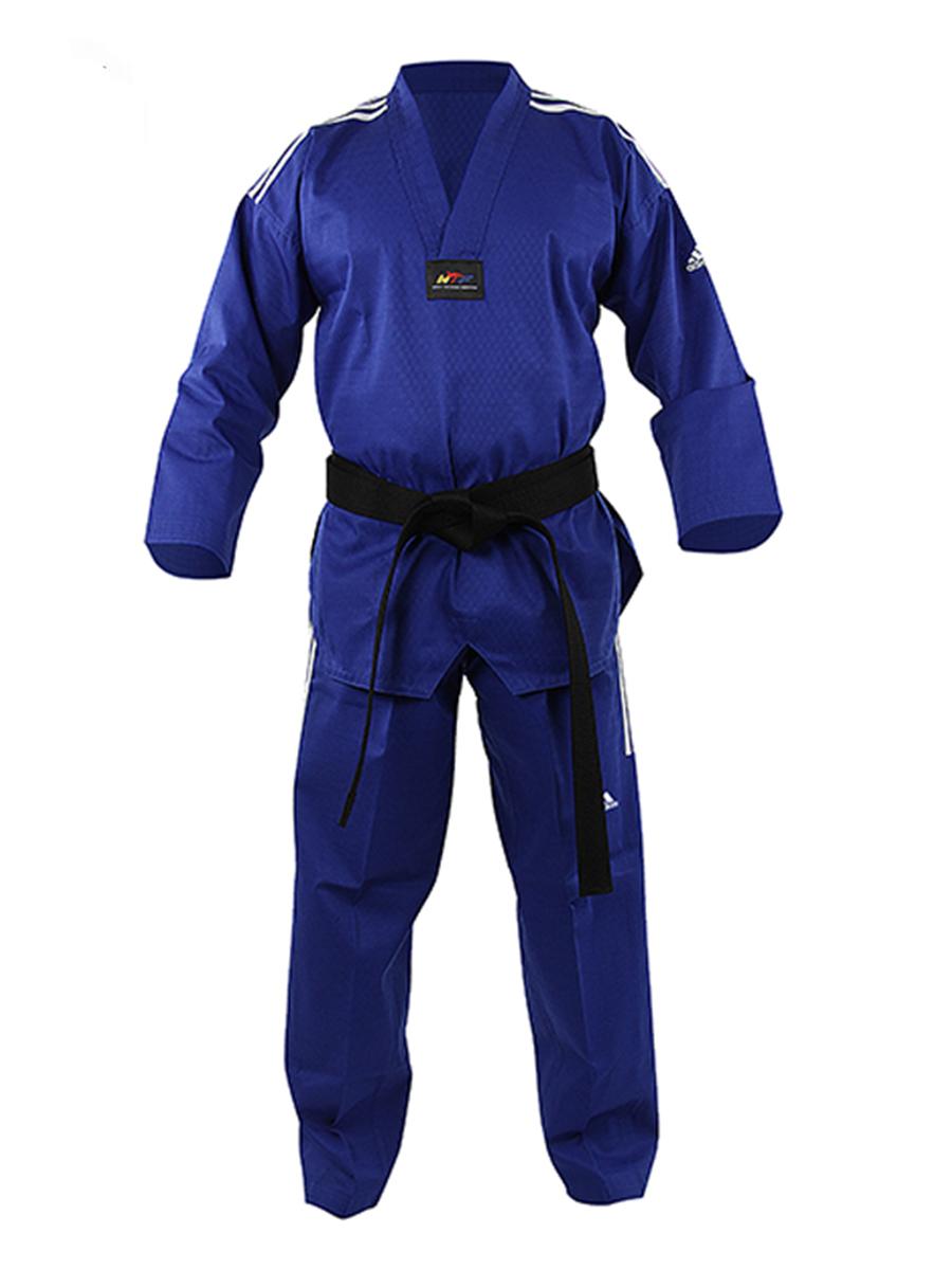 Dobok Adidas Taekwondo Adichamp Azul