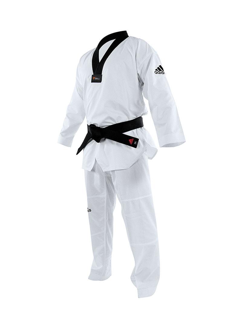Dobok Adidas Taekwondo Adicontest  Gola Preta WT