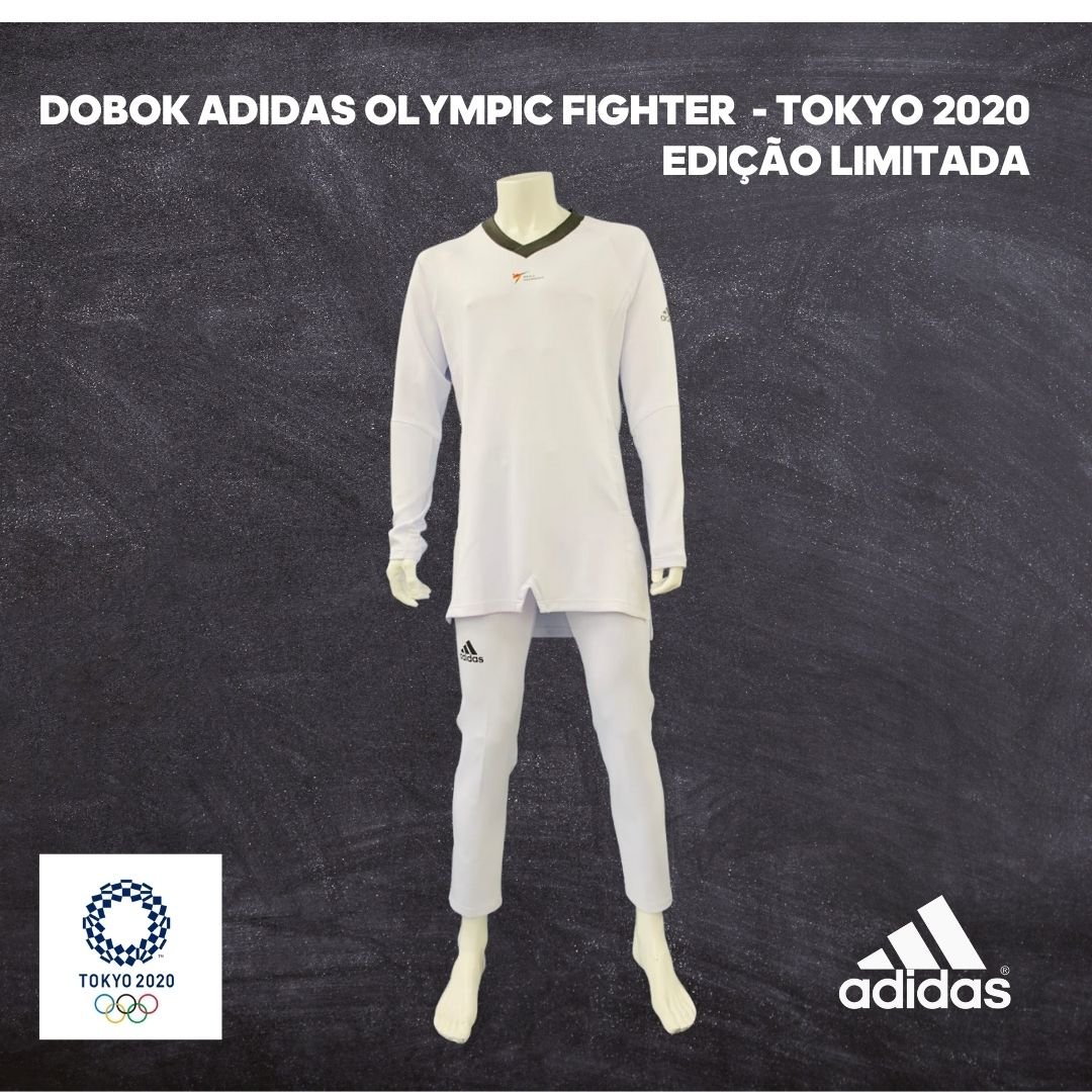Dobok Adidas Taekwondo Olympic Fighter Tokyo 2020