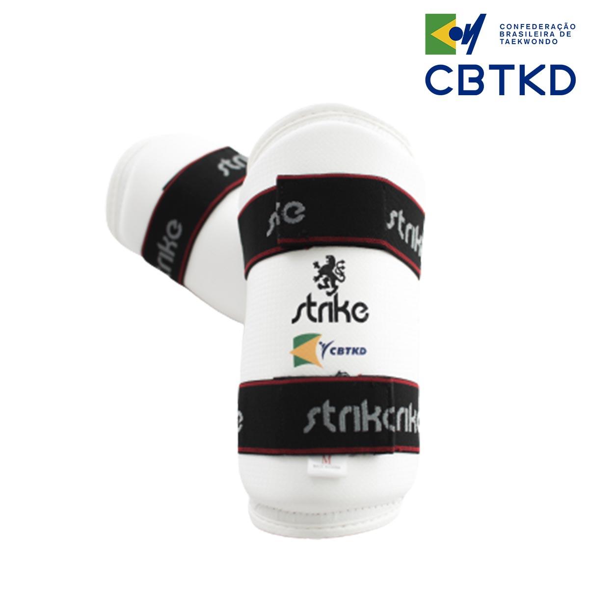 Protetor de antebraço Strike Taekwondo Oficial CBTKD