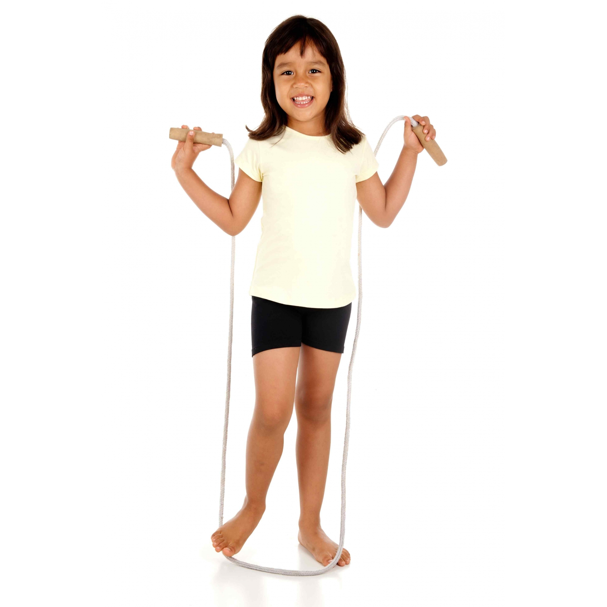 30 Corda De Pular Infantil 1,80m Nylon Lembrancinha Prenda