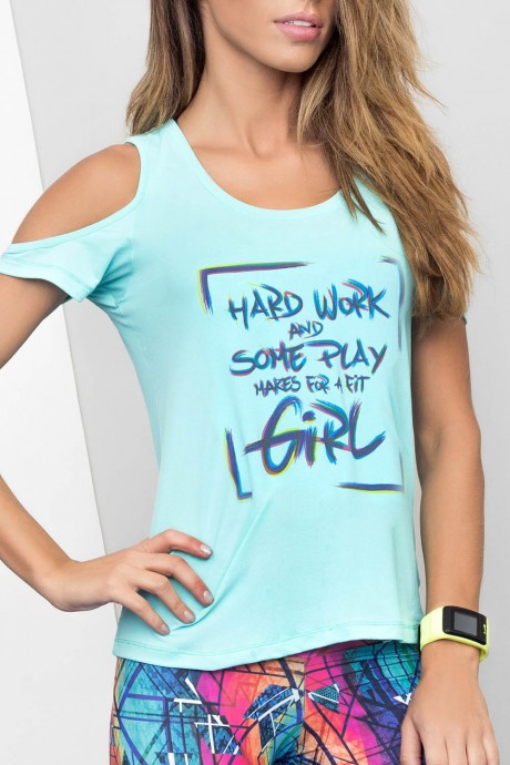 Blusa Some Play Recortes Live