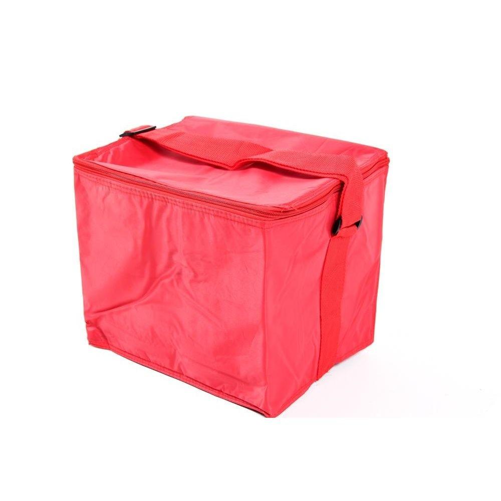 Bolsa térmica Vermelha com capacidade 24 litros Belfix