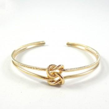 Bracelete Knot Dourado