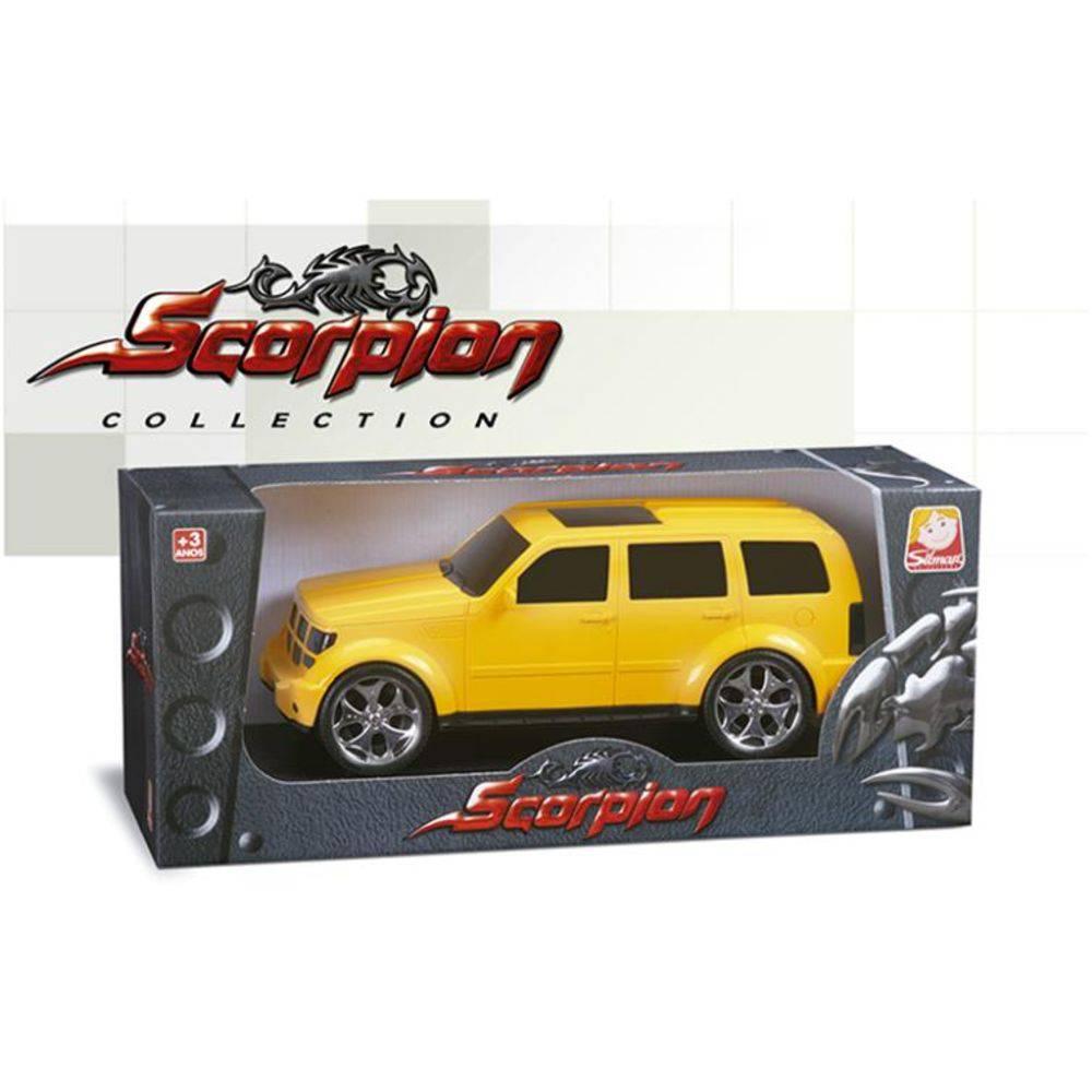 Brinquedo Caminhonete Amarela Scorpion RT3000 6430 Silmar