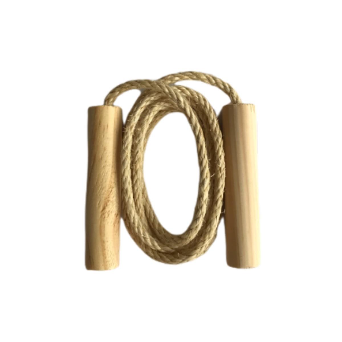 Brinquedo corda de pular infantil 1,8M de sisal MCC Brinquedos