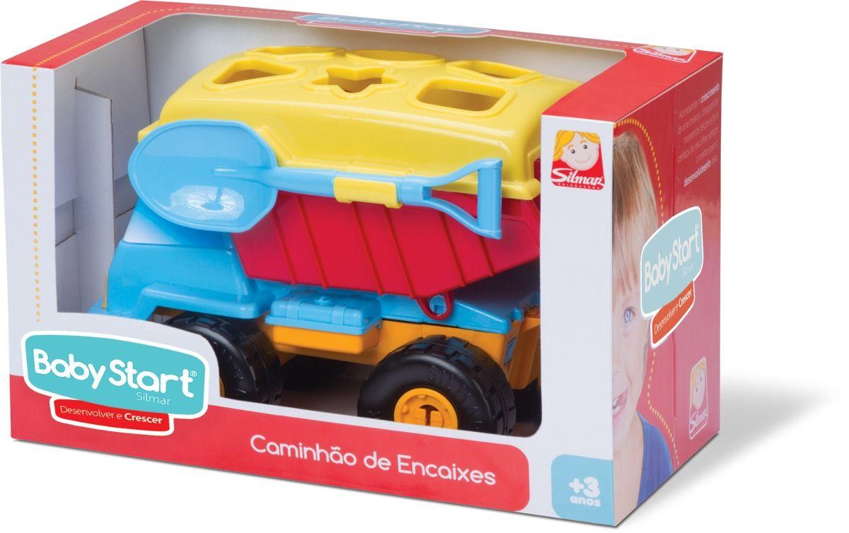 Brinquedo de Montar Basculante de Encaixes Baby Start 9100 Silmar