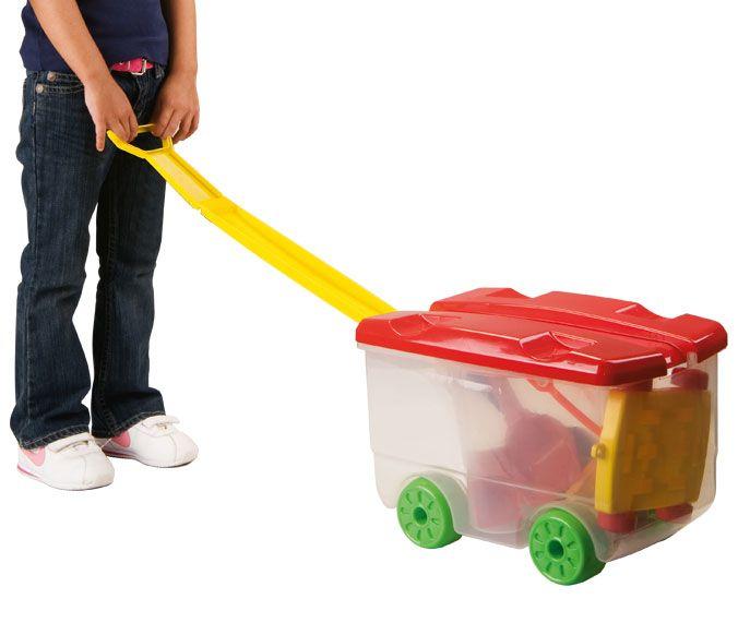 Brinquedo de Montar Big Wagon Clic e Monte MK188 Dismat