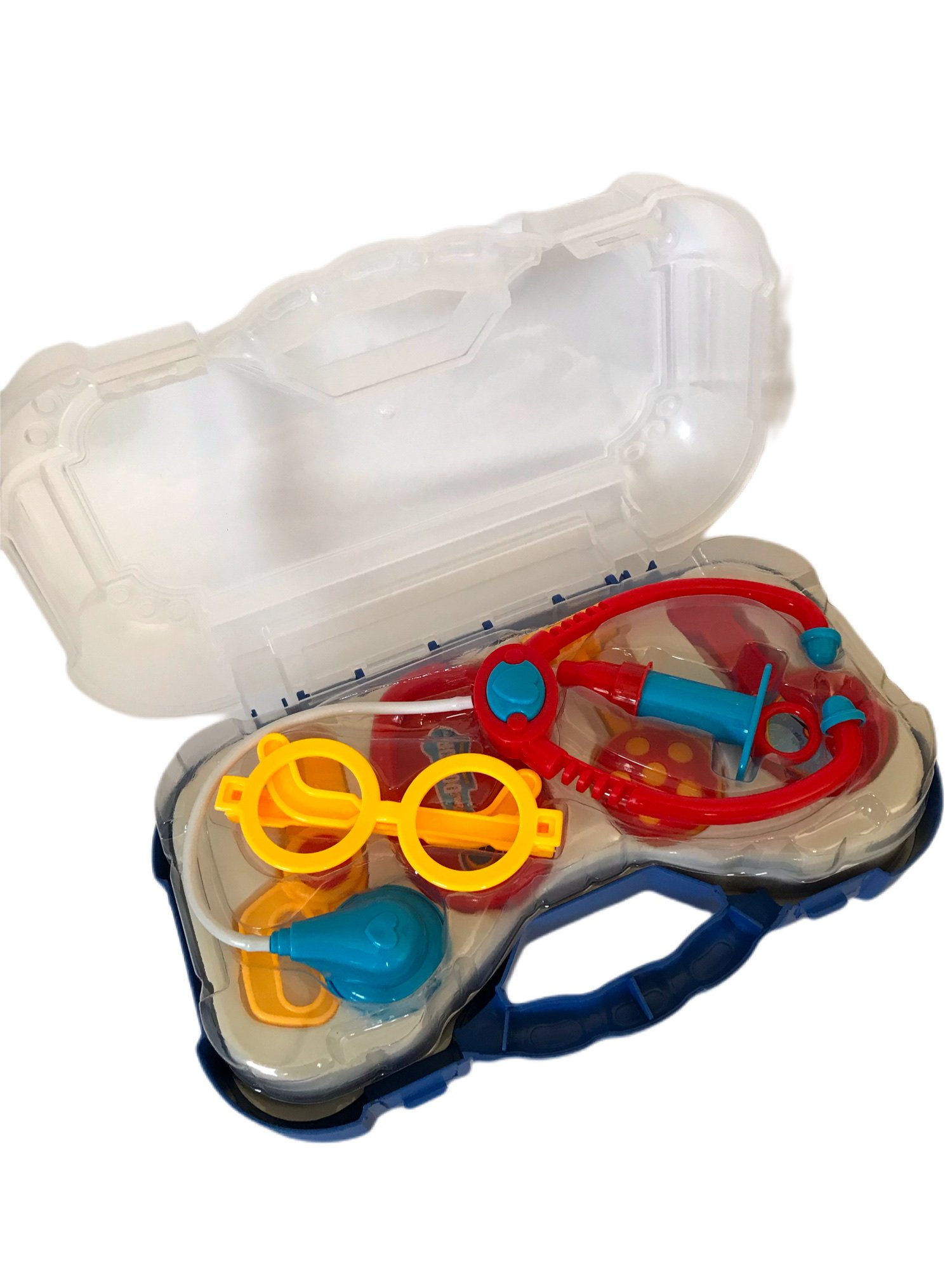 Brinquedo Maleta Médico Azul Pakitoys