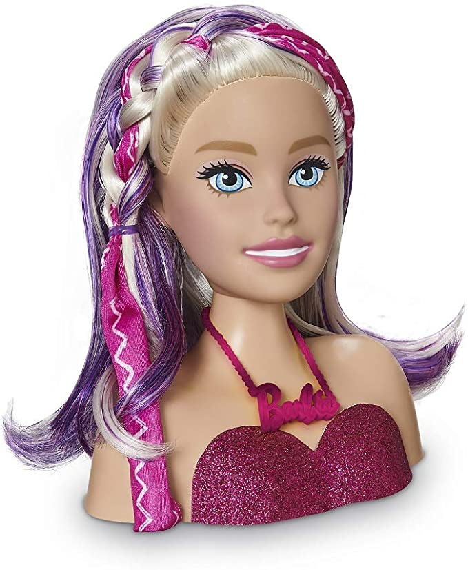 Busto de Boneca Barbie Styling Head Faces 1265 Pupee