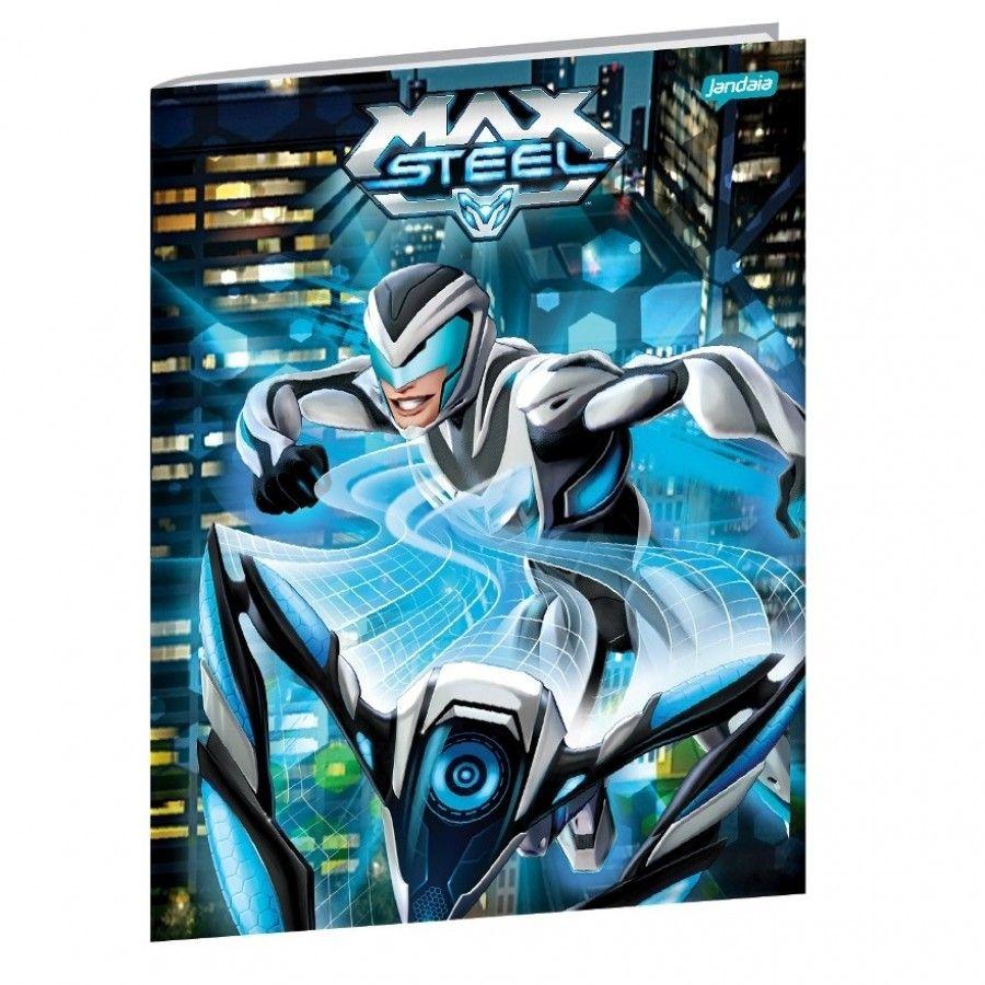 Caderno Brochura Universitário Max Steel 4  Jandaia