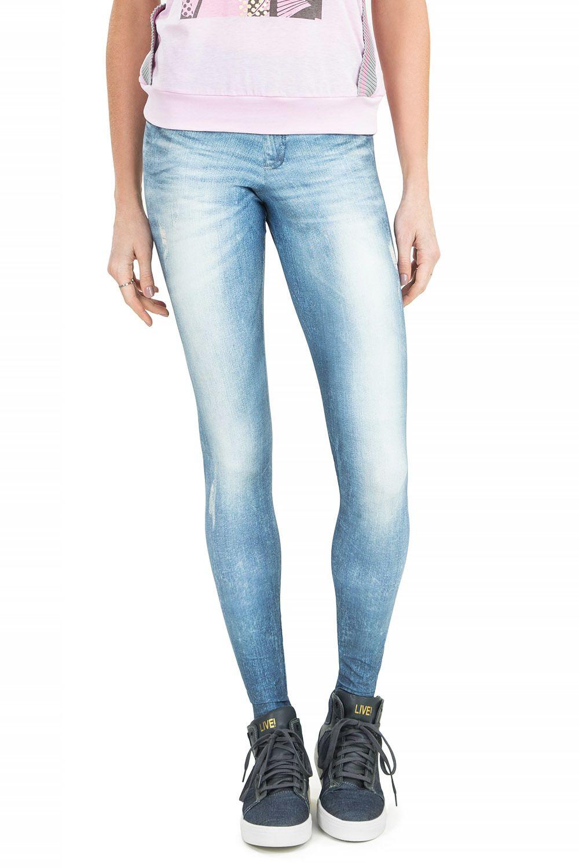 Calça Fusô Jeans Technological Blue Live