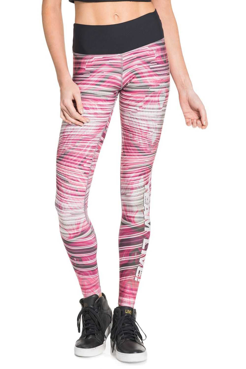 Calça Fusô Reversible Animal Power Pink Live