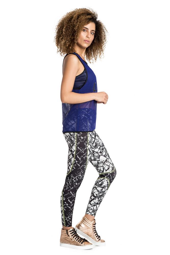 Calça Legging Flex Texture Team Fit Live
