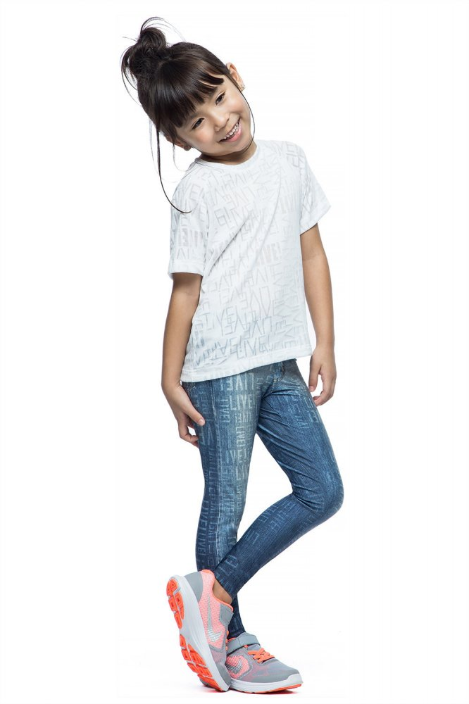 Calça Legging Jeans Live Infantil