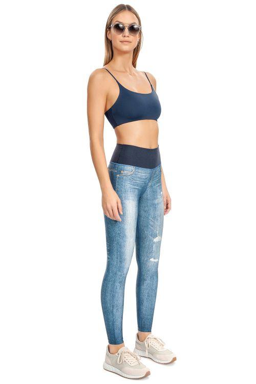 06645a28d Calça Legging Jeans Reversible Active Life Live - Shop VR