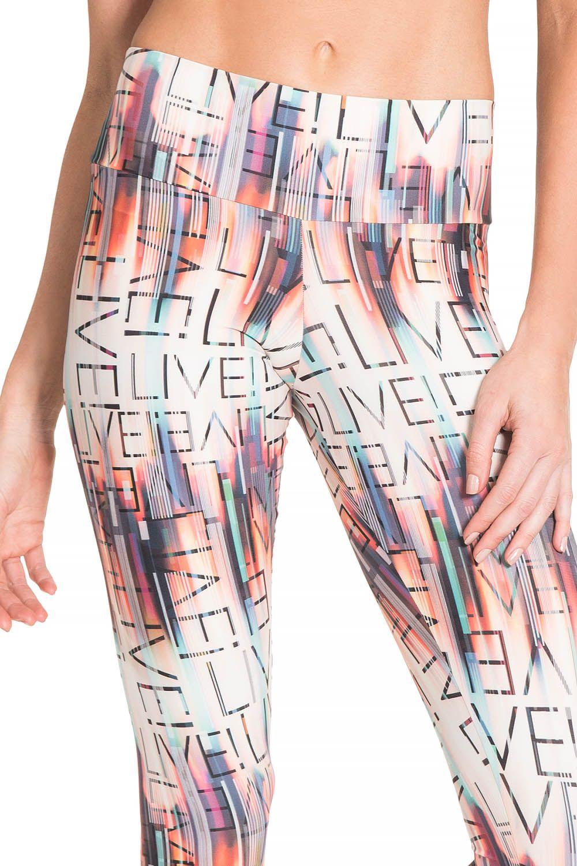 Calça Legging Live in Colors Trademark Live