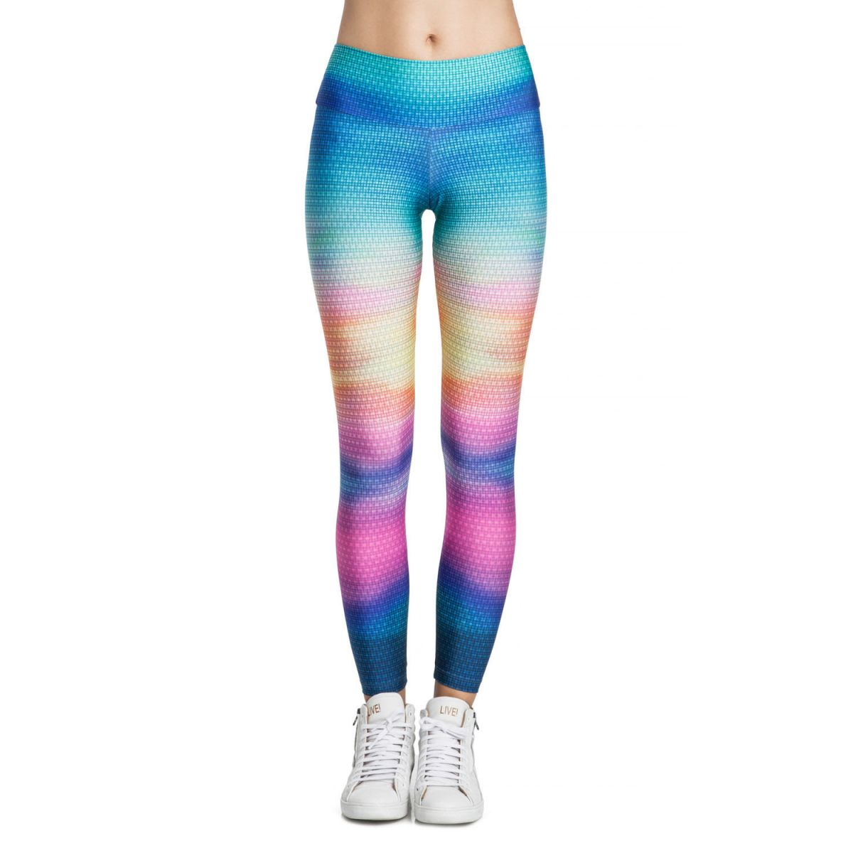 Calça Legging Power Rainbow Gym Live