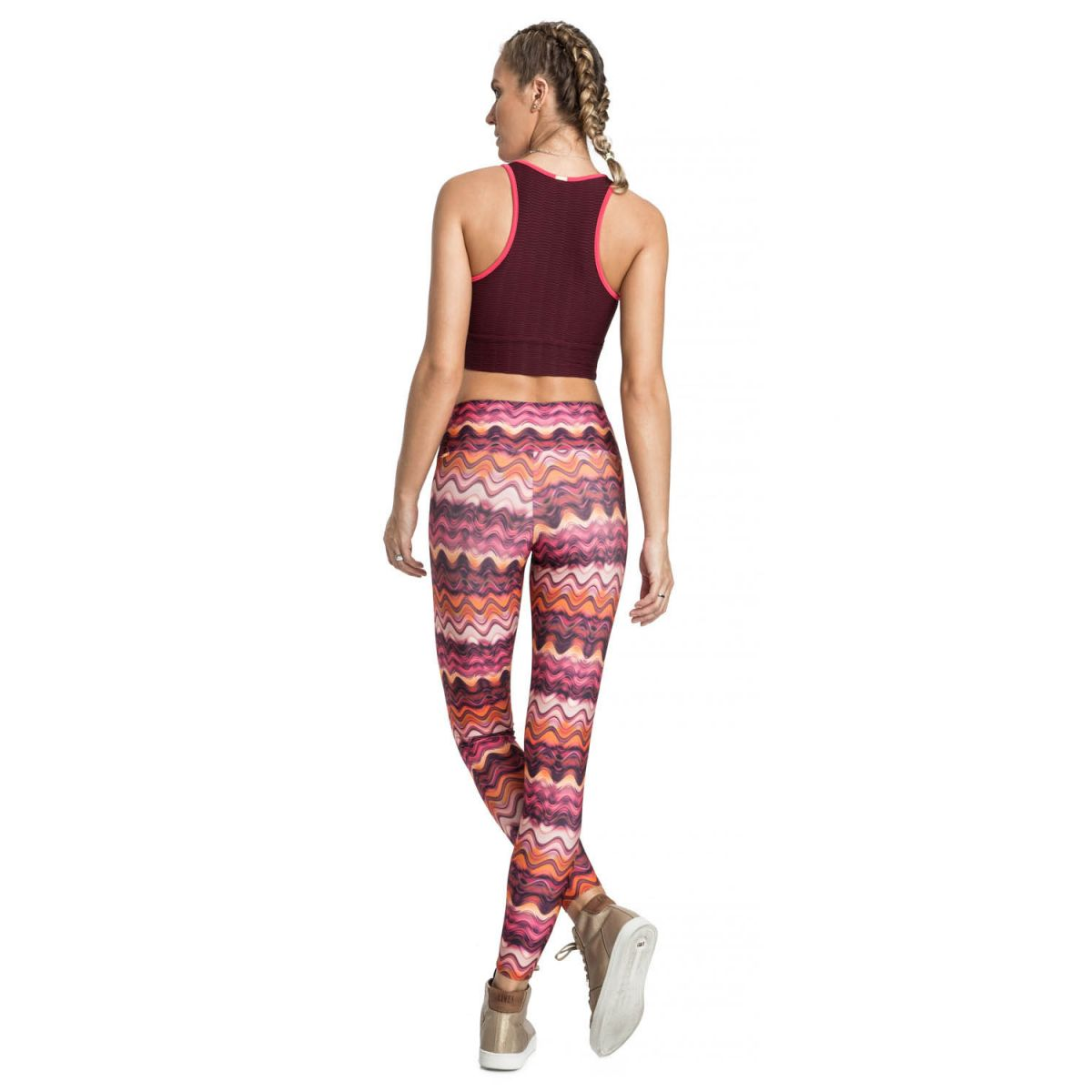 Calça Legging Power Waves Gym Live