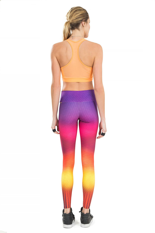 Calça Legging Rainbow Rise Live