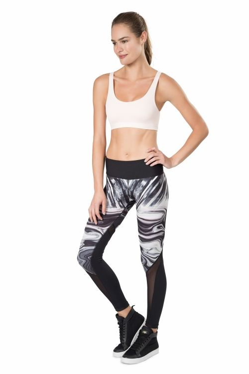 Calça Legging Reversible Sculpt Power Glow Live