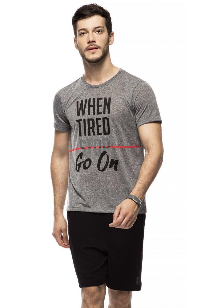 Camiseta Fitness Masculina Live
