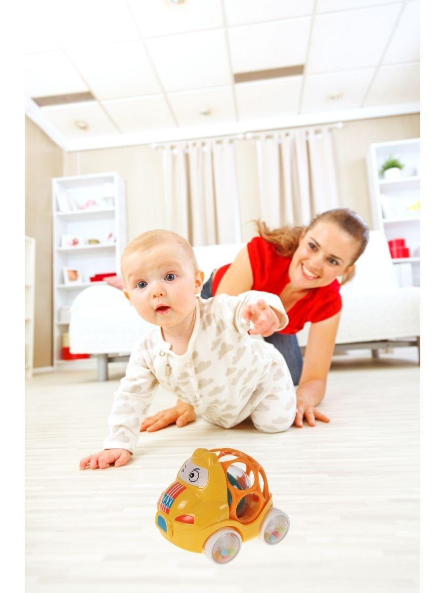 Carrinho Chocalho com Barulho Art Baby