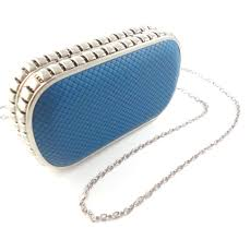 Clutch Metal Blue