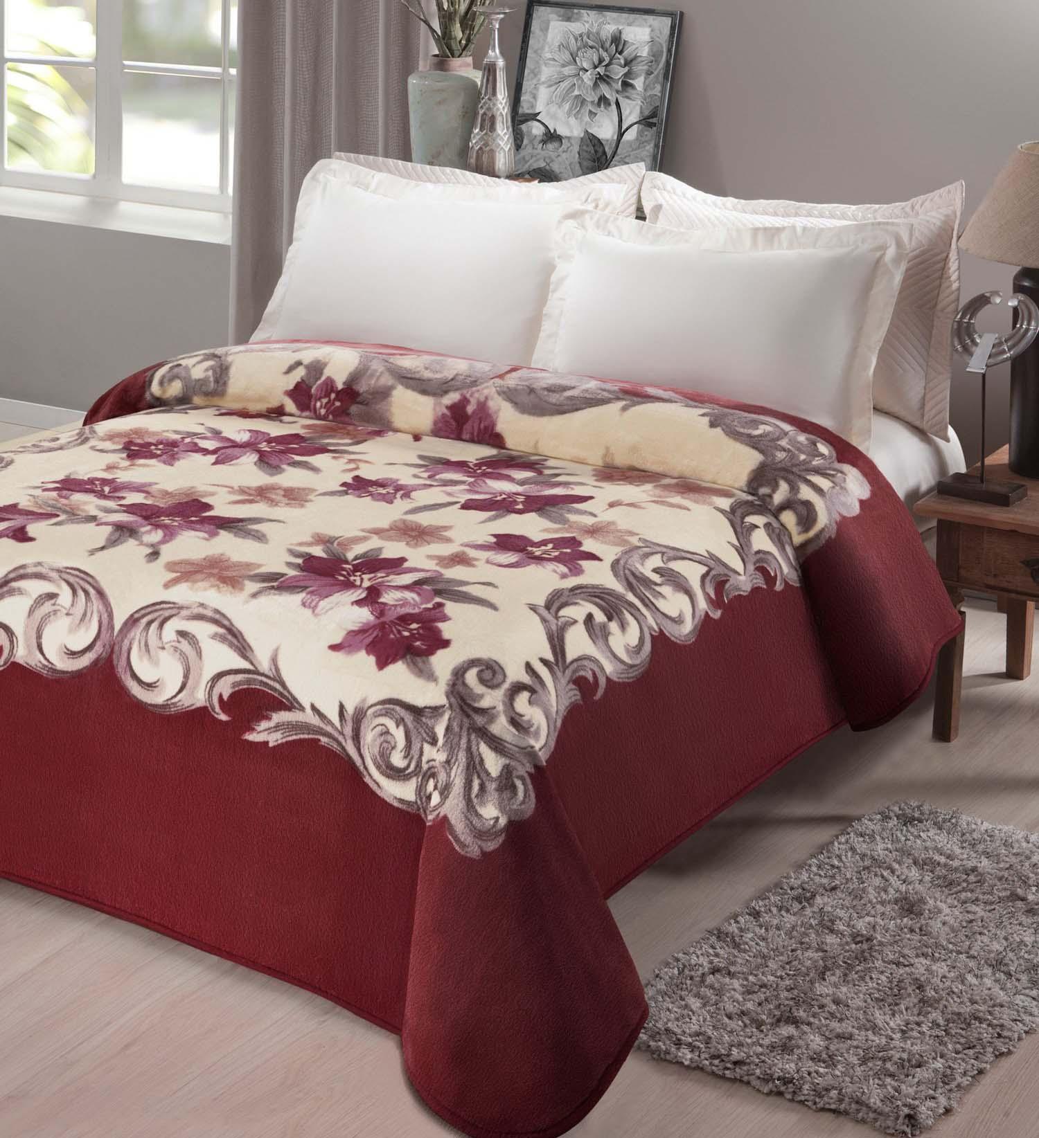 Cobertor Casal Kyor Plus Chamonix 1 Peça Microfibra Jolitex