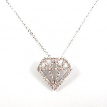 Colar Diamante Prata