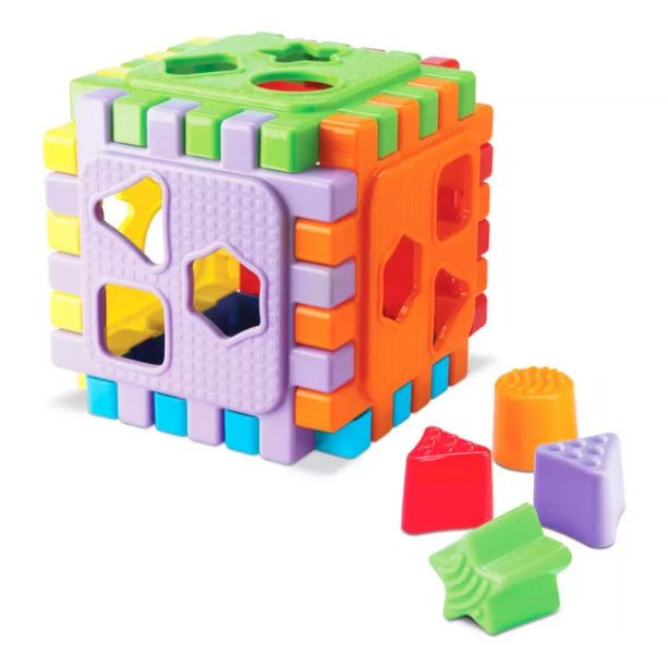 Cubo Didático Baby Start 9105 Silmar