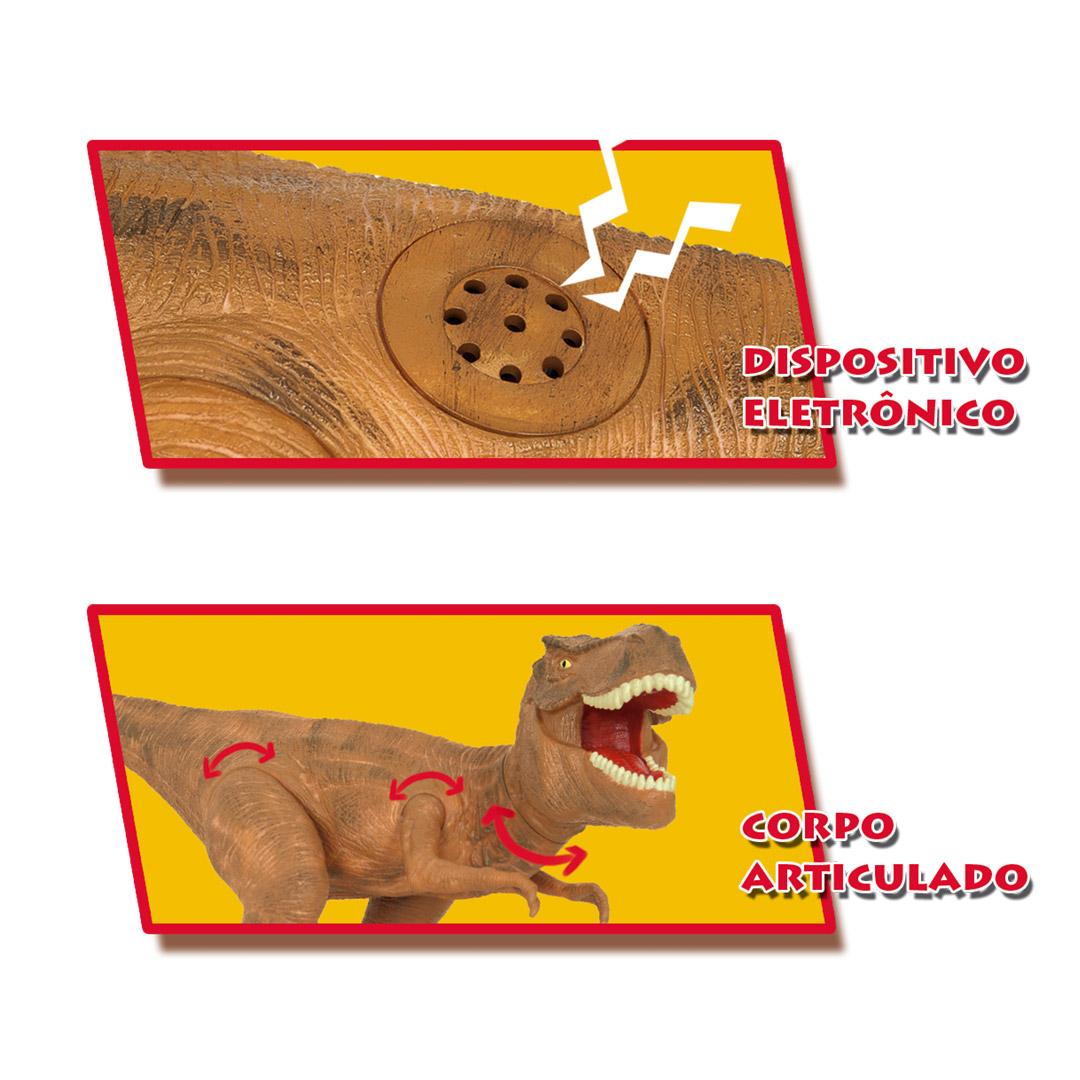 Dinossauro Dino World Tyrannosaurus Rex 2088 Cotiplás