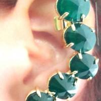 Ear Cuff Vert
