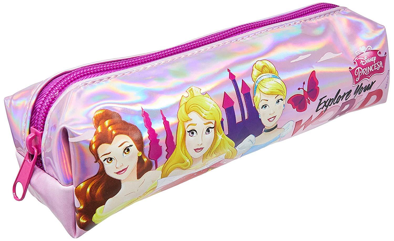 Estojo Soft Escolar Simples Princesas 52121 Dermiwil