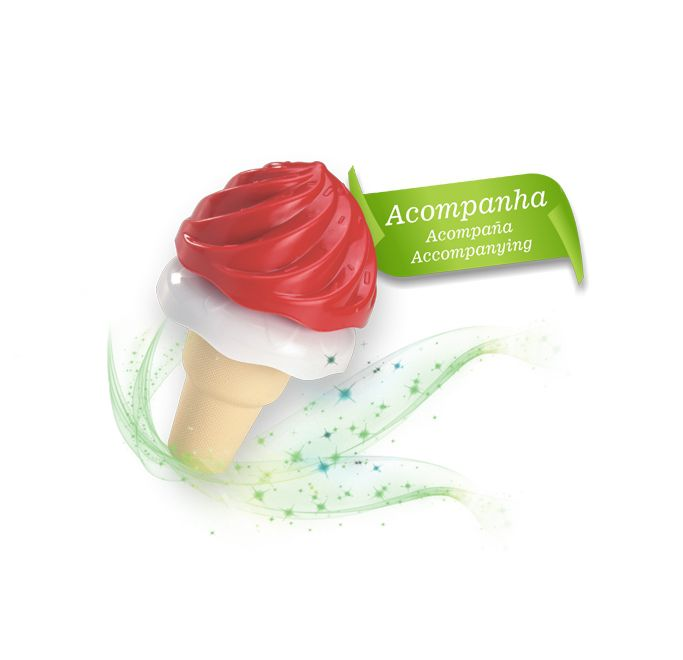 Geladeira Moranguita 8054 Magic Toys