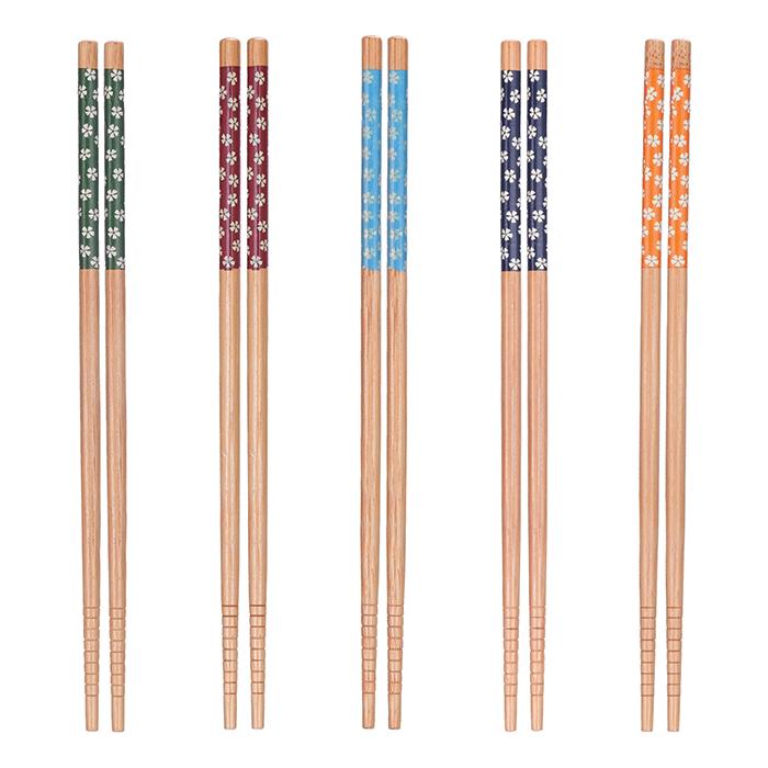 Hashi para Alimentos de Bambu Kit 5 pares Art House