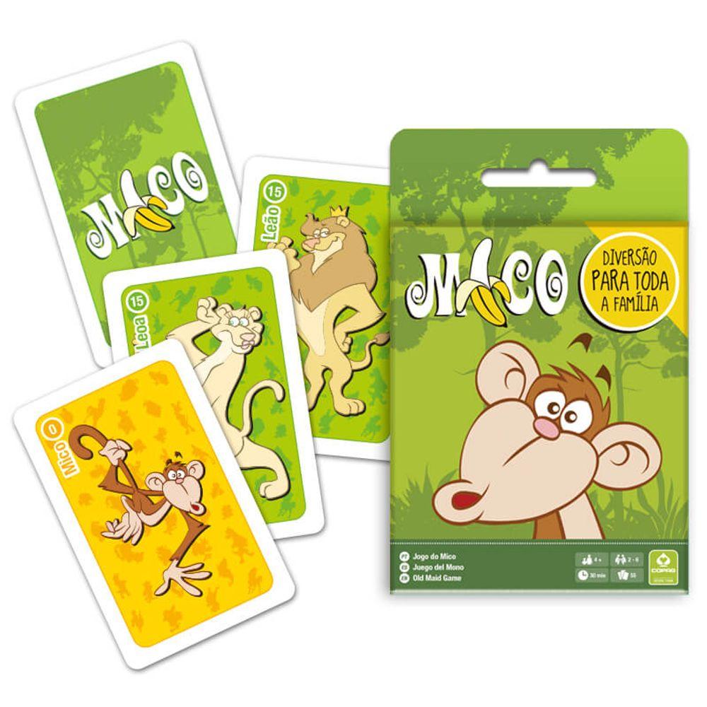 Jogo de Cartas do Mico 55 Cartas Copag