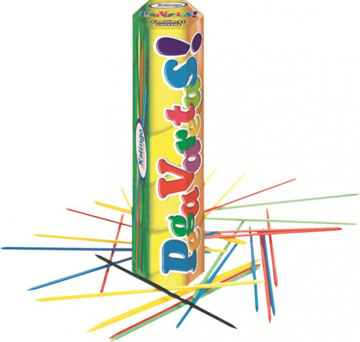 Jogo Pega Varetas de Plástico Colorido c/31  Xalingo