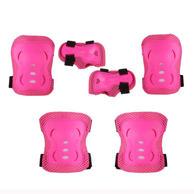 Kit de Proteção Infantil Rosa para Rollers e Skates Bel Fix