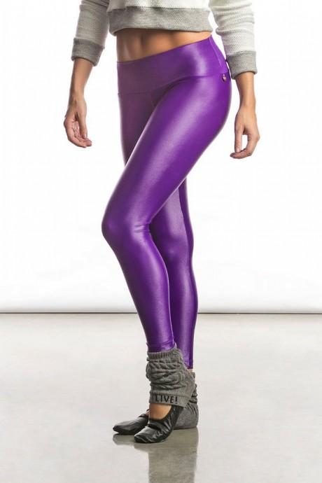 Calça Legging Dance Gloss Roxa Live