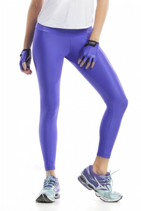 Calça Legging Gloss Azul Live